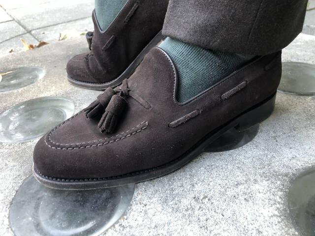 loafersy do garnituru